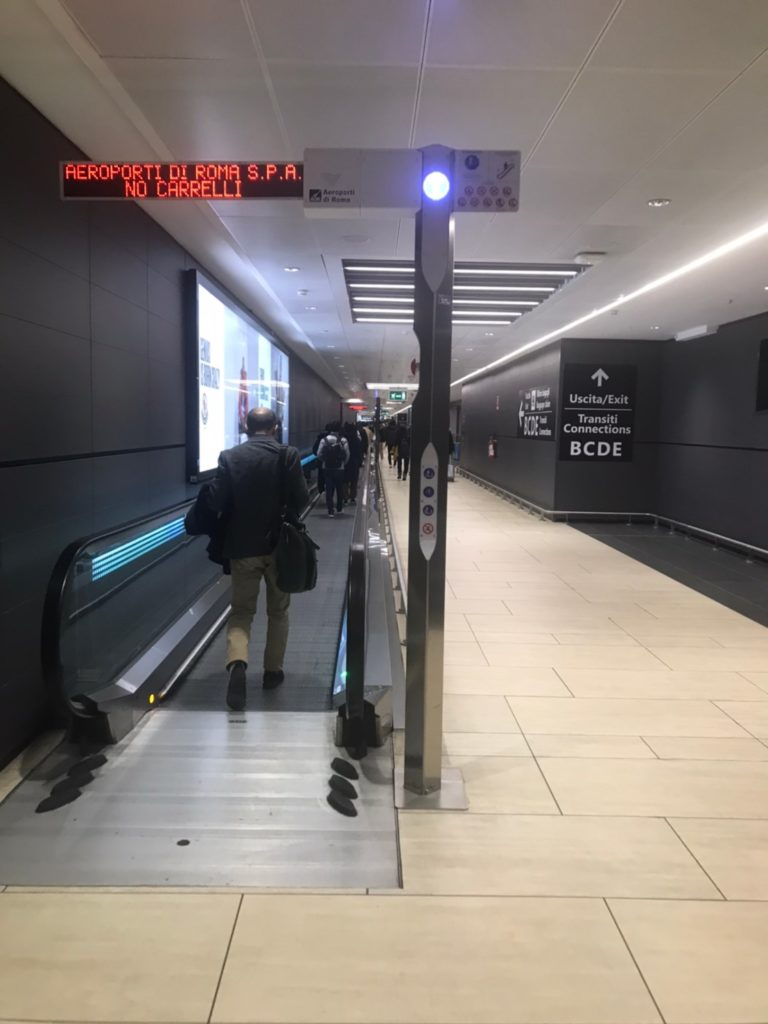 レオナルドダヴィンチフィウミチーノ空港