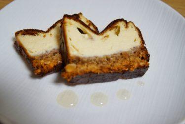 甘さ控えめ!簡単【バスク風チーズケーキ】を作ってみた