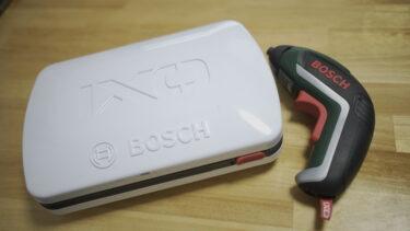 DIYにおすすめ 電動ドライバー BOSCH IXO5(ボッシュ)の使用感レビュー